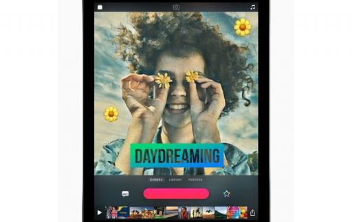 Clips op iPad