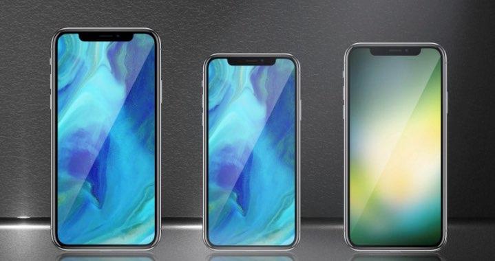 Drie iPhones 2018
