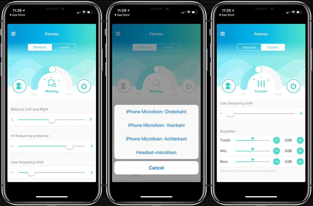 Fennex-app review: in gebruik
