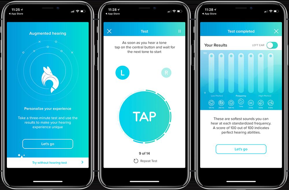 Fennex-app: eerst een gehoortest doen