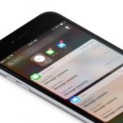 Notificaties concept op iPhone.