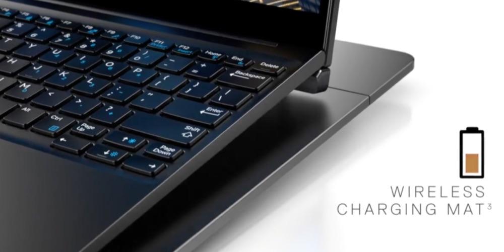 Dell laptop draadloos opladen.