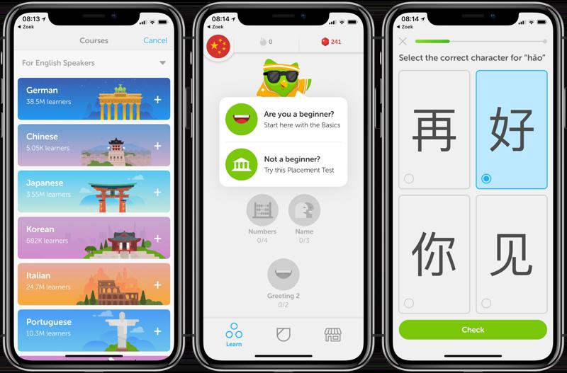 Duolingo Chinees leren