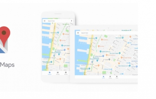 Nieuwe look voor Google Maps.