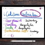 Pixelboard voor iPad.
