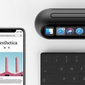 Taptop met iPhone