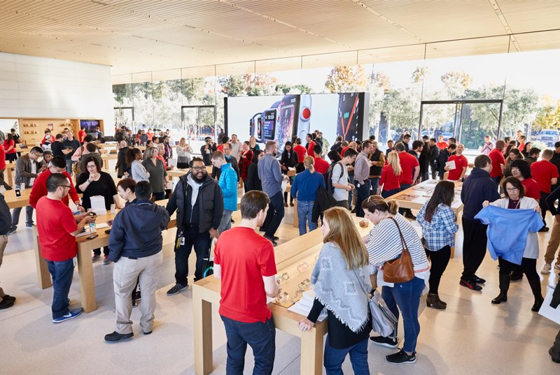 Apple Park Visitor Center: binnenkijken