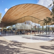 Apple Park Visitor Center in Cupertino