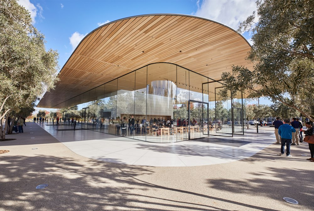 Apple Park Visitor Center in Cupertino