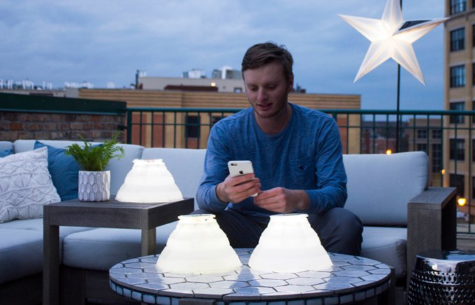 LuminAID tuinverlichting op Kickstarter