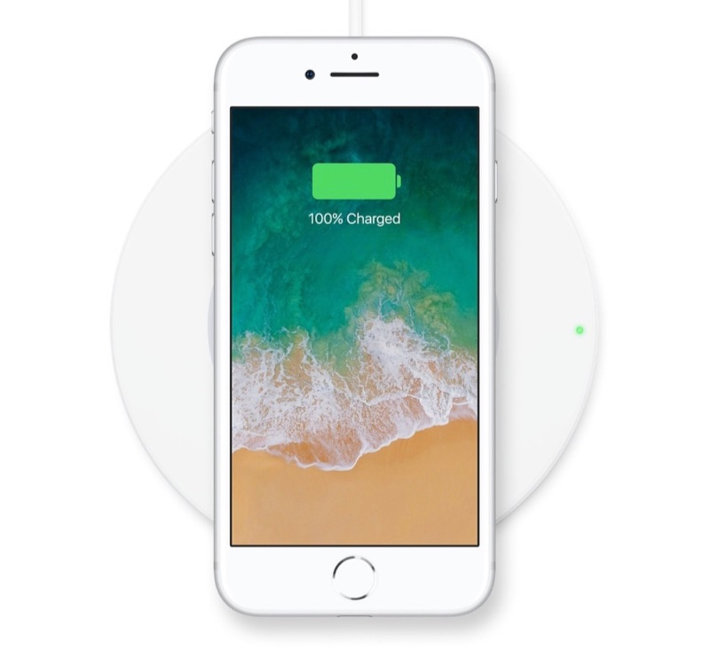 Belkin Boost Up lader met iPhone 8.
