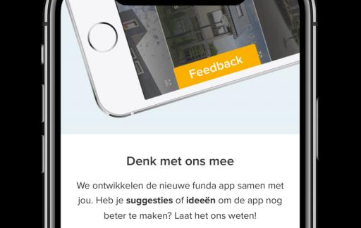 Funda vernieuwt-app