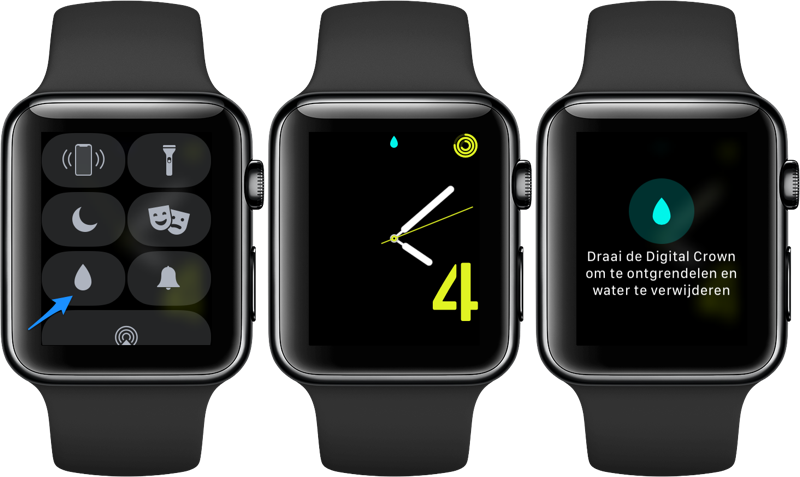 Waterslot Apple Watch