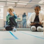 Apple Store Kids Hour programmeren.