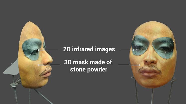 Masker voor Face ID.