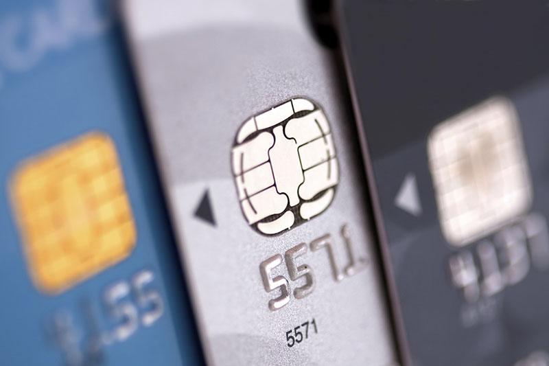 EVM-chip op bankpassen