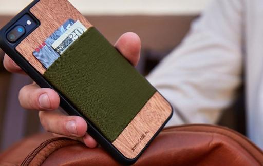 iPhone-hoesje met bankpasjes