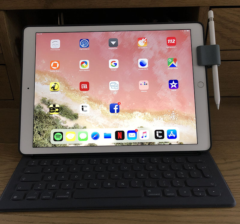 Action-kabelbinder voor Apple Pencil