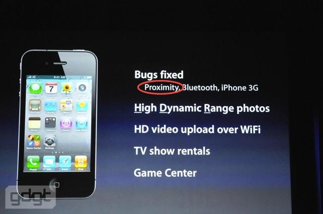 Proximity bug iOS 4