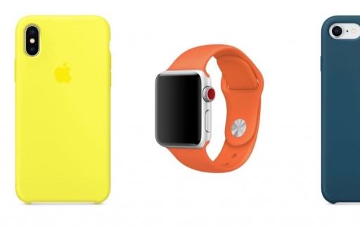 Apple Watch en iPhone-hoesjes voor de feestdagen in nieuwe kleuren.