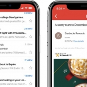 Gmail op iPhone X