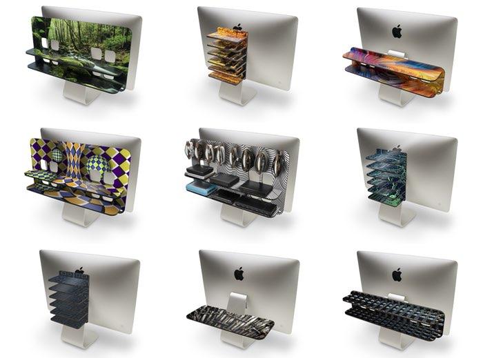 Baxter opbergrekken voor iMac