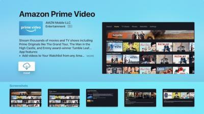 Prime Video op tvOS