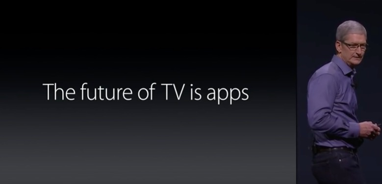 Future of tv is apps.