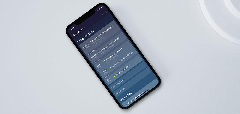 Newton Calendar app