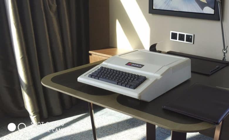 Raadition lijkt op Apple II