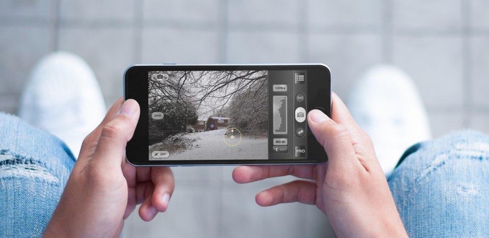 Sneeuwfoto ProCamera