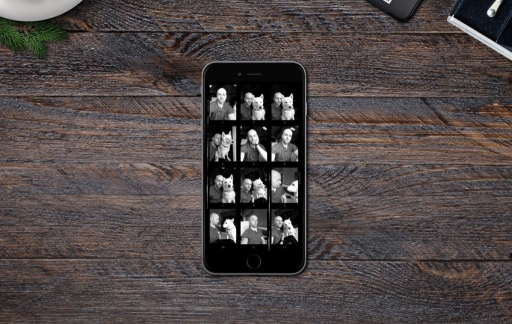 Selfissimo voor de iPhone.