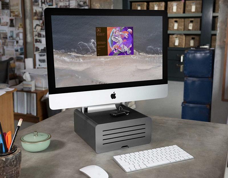 HiRise Pro met iMac