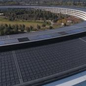 Apple Park drone video december 2017
