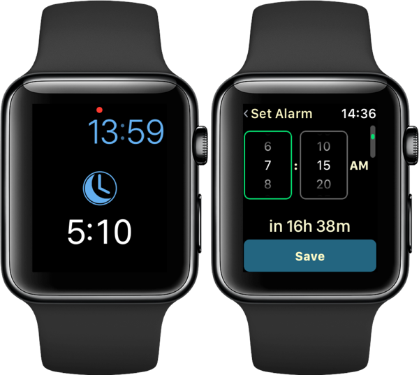 AutoWake instellen op de Apple Watch.