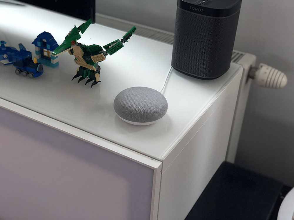 Google Home Mini thuis