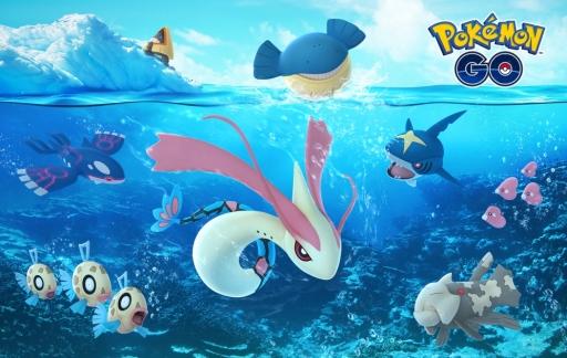 Water Pokémon voor kerst 2017.