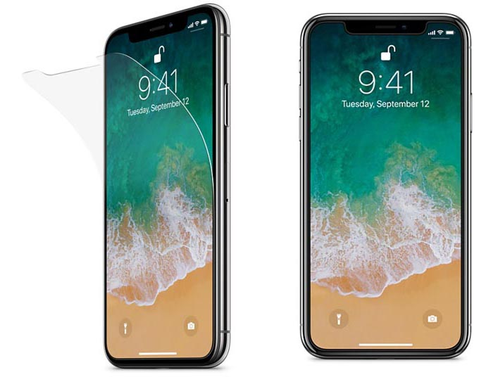Belkin InvisiGlass Ultra voor iPhone X