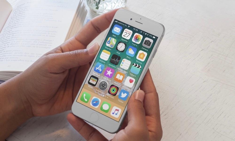 Uptime iPhone controleren