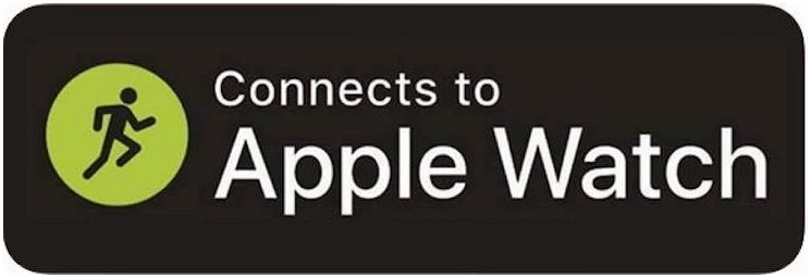 Connects to Apple Watch logo