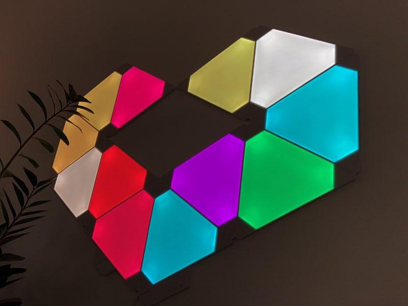 Nanoleaf Aurora-hartje