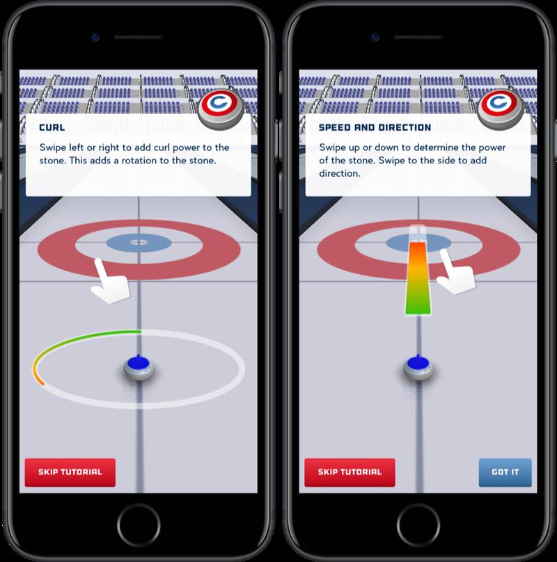 Curling Winter Games.