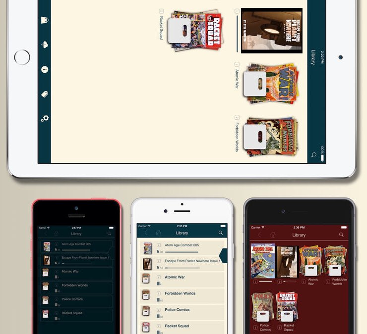 Comiczeal iPhone en iPad