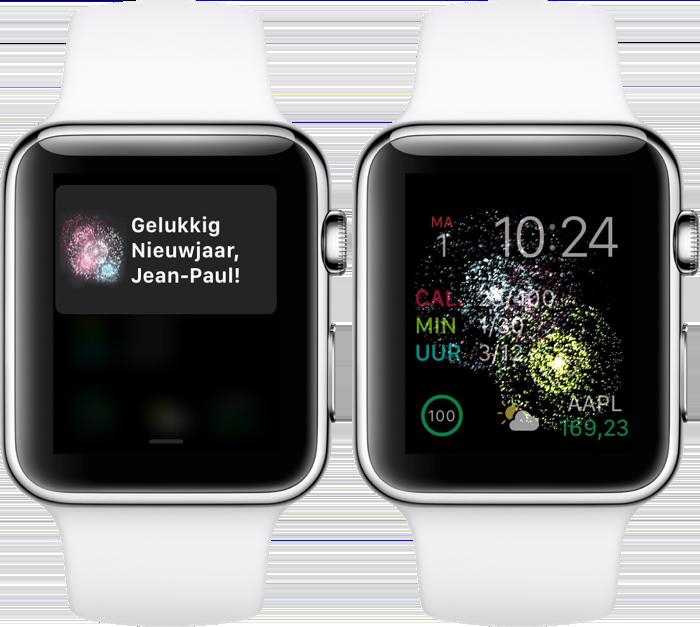 Gelukkig nieuwjaar van Apple