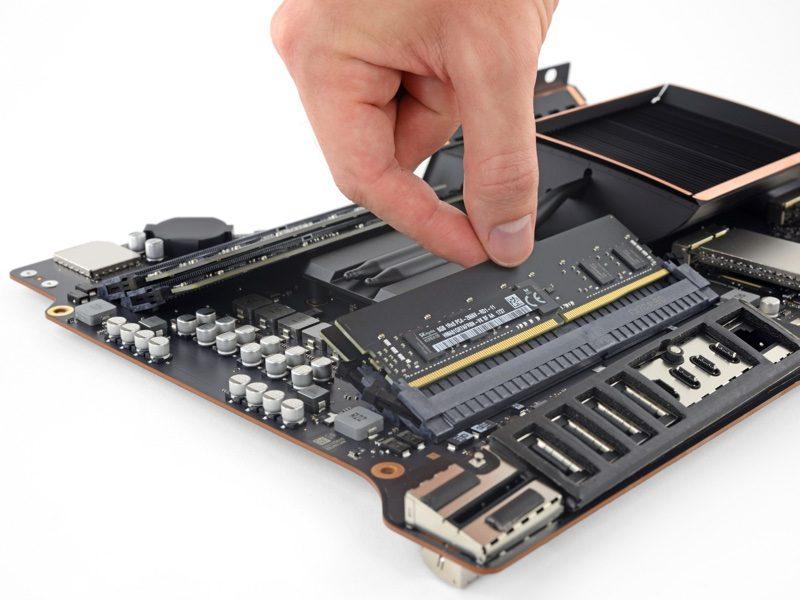 iMac Pro teardown door iFixit