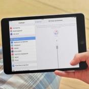 iPad draadloos synchroniseren met iTunes.