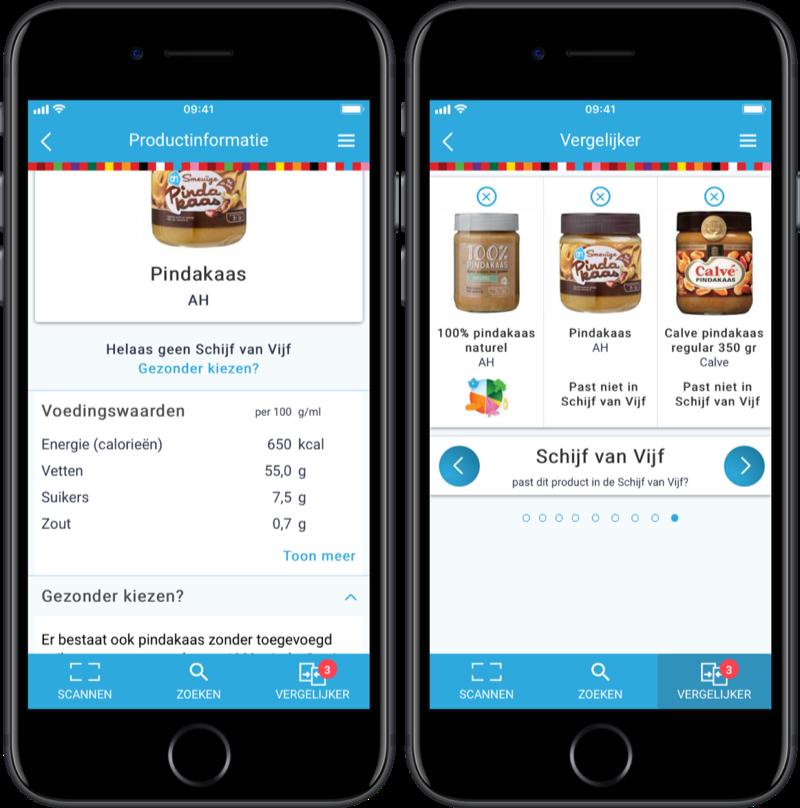 Kies Ik Gezond?-app van Voedingscentrum.