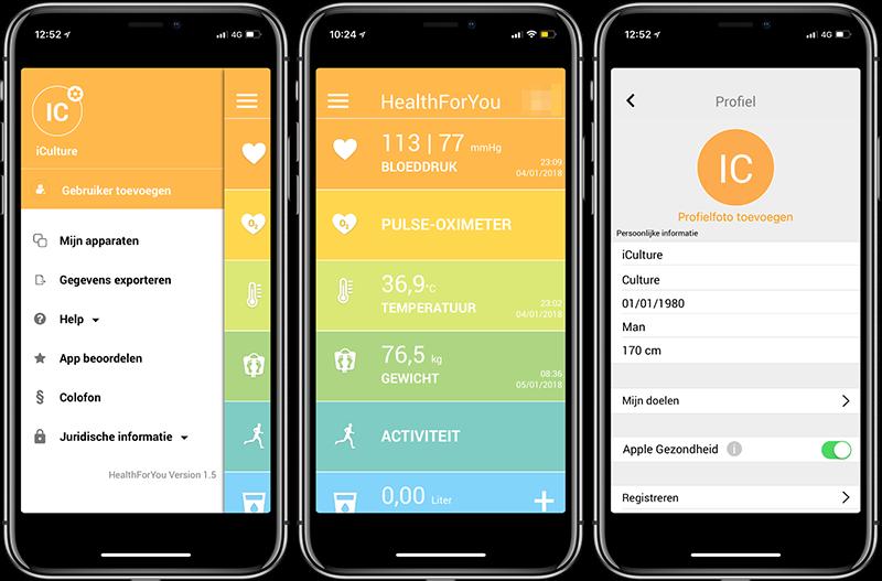 HealthForYou review: app met profiel en meer