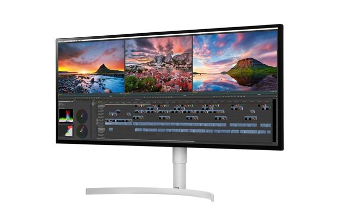 LG 5K-scherm van 34-inch.