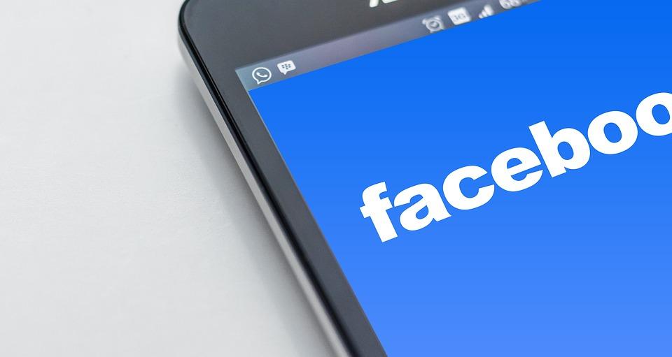 Facebook op een iPhone